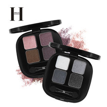 HENLICS Shimmer eye shadow palette easy to wear long lasting Glitter Eyeshadow pallete Nude Pigment Waterproof Eye Shadow(China)
