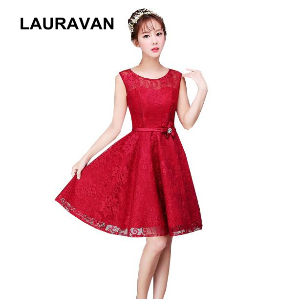 authentic quality watch stable quality US $24.95 |elegant short formal occasion modest wine red burgundy party  dresses for teens cocktail dress corset ball gowns under 50-in Cocktail ...