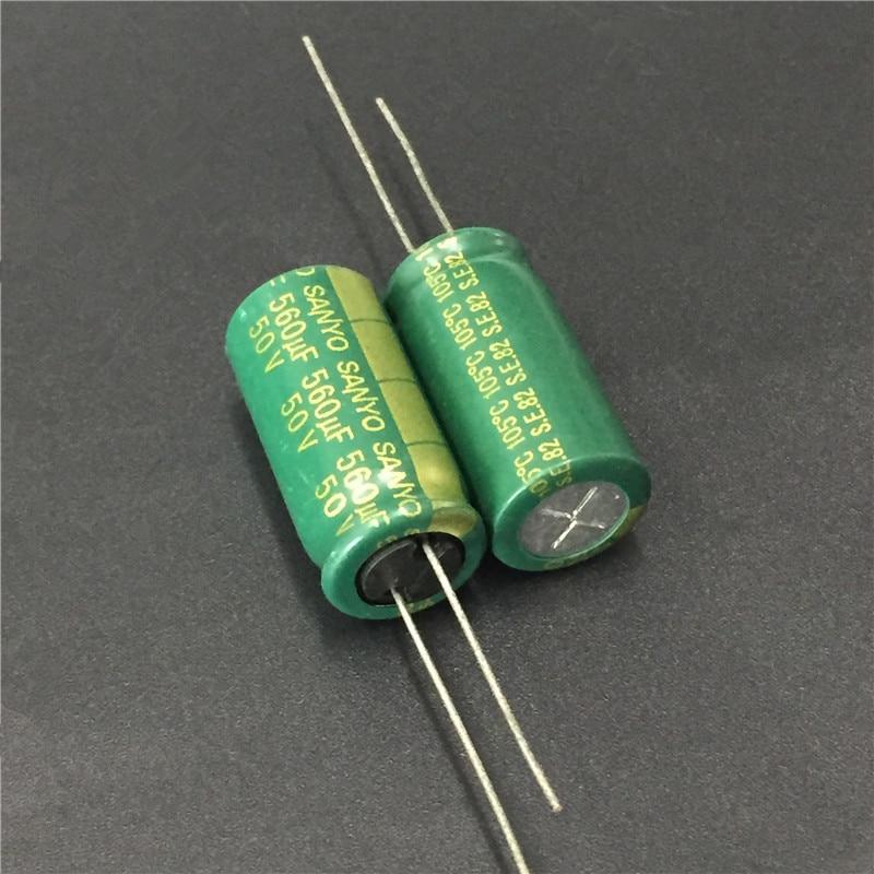 SANYO AX 5X11mm Low Impedance Long life Capacitor 20pcs 50V 4.7uf 50V SUNCON