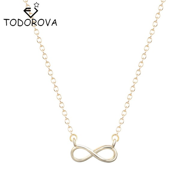 Friendship Pendant Necklace Todorova simple silver gold women girl gift fashion jewelry 8 todorova simple silver gold women girl gift fashion jewelry 8 infinity friendship pendant necklace best friends audiocablefo