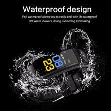 Smart Wristband band Watch Heart Rate Monitor