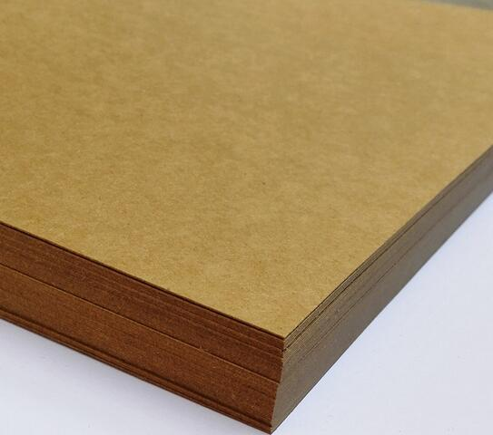 Size A4 Brown Kraft Matte Paper Cardstock Thick Papers Card For Craft Cardmaking Scrapbooking 230gsm Thickness 2/10/30/50pcs