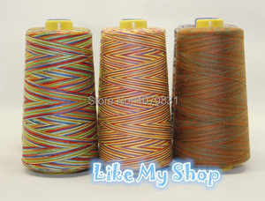 free shipping multi-colors polyester sewing thread machine/hand sewing thread 402 or 203 available 140g/cone