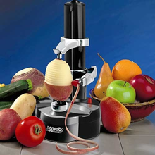 Multifunction Electric Vegetables Fruit Apple Peeler Automatic peeling Machine Touch Rotate Stainless Steel Blades 2019