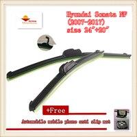 High Quality Car Windscreen Wiper For Hyundai Sonata NF 2007 2017 Size 24 20
