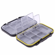 Waterproof Eco-Friendly Fishing Lure Bait Tackle Waterproof Storage Box Case With 12 Compartments Fishing Tackle Accessories