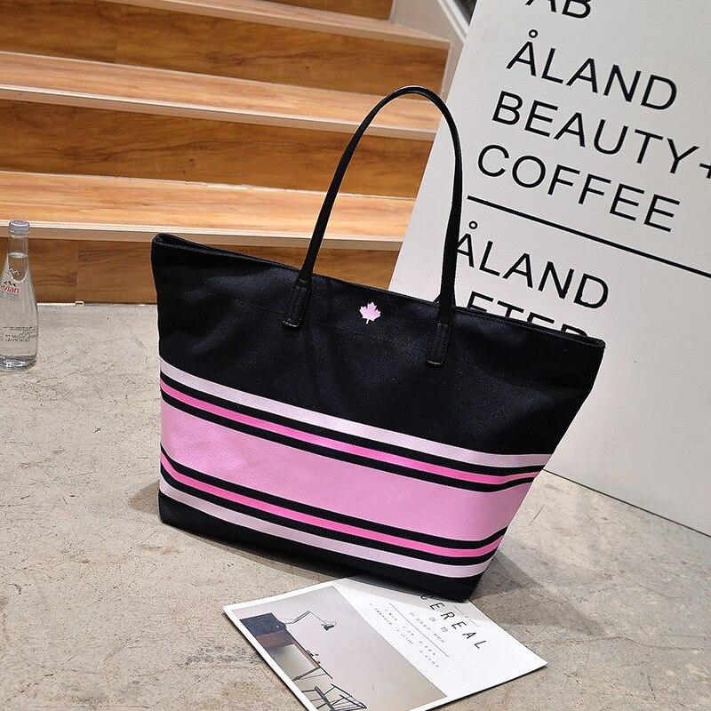 wholesale pink fashion girl shoulder bag large capacity Overnight weekender vs handbag Weekend Travel Tote Bag