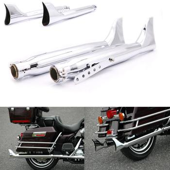 For Harley Sportster 883 1200 Forty Eight Seventy Two Iron 883 Motorcycle Silence Exhaust Muffler Pipe
