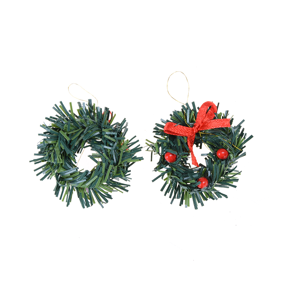 Aliexpress.com : Buy Hot Sell Mini Christmas Wreath green Color ...