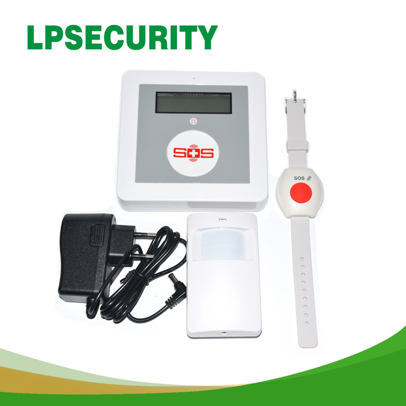 LPSECURITY Smart Home Security Wireless APP Remote Control GSM Alarm System SOS Panic Button SMS Alarm Elderly Care Panel Kit