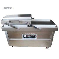 Máquina de empacotamento lisa 2-8 pcs/min DZ600-2SB v/220 v 1.5kw do vácuo da câmara dobro comercial automática da máquina de empacotamento do vácuo 380