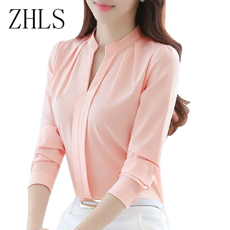 Tops Long Sleeve Female White Shirts For Women