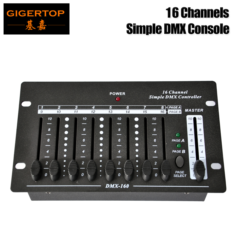 Freeshipping 16 Channel Simple DMX Console Mini Size Portable Design 3PIN Output C9V Adapter Master slider Button CE ROHS welly модель машины 1 32 mercedes benz g белый 39889