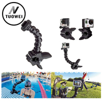 Gopro Accessories Jaws Flex Clamp Mount And Adjustable Neck For GoPro Hero 4 3 3 2