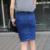 OL 2017 Mujeres del Verano Pantalones Vaqueros Falda Señoras de la Oficina Formal Stretch Denim Faldas Saias Jupe Femme S-2XL