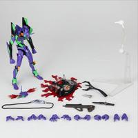 HKXZM Anime 15CM EVA Neon Genesis Evangelion Test Type 01 Evolution with LED Light PVC Action Figure Collectible Model Toys Gift