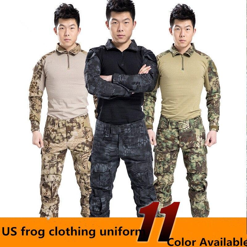 Militaire tactique army militar uniforme multicam combat militaire askeri uniforme militare vêtements forces spéciales usa vêtements