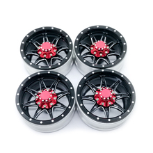 4PCS Metal Wheel Rim 1.9 Inch BEADLOCK for 1/10 RC Rock Crawler SCX10 90046 TAMIYA CC01 D90 D110 TF2 TRX-4