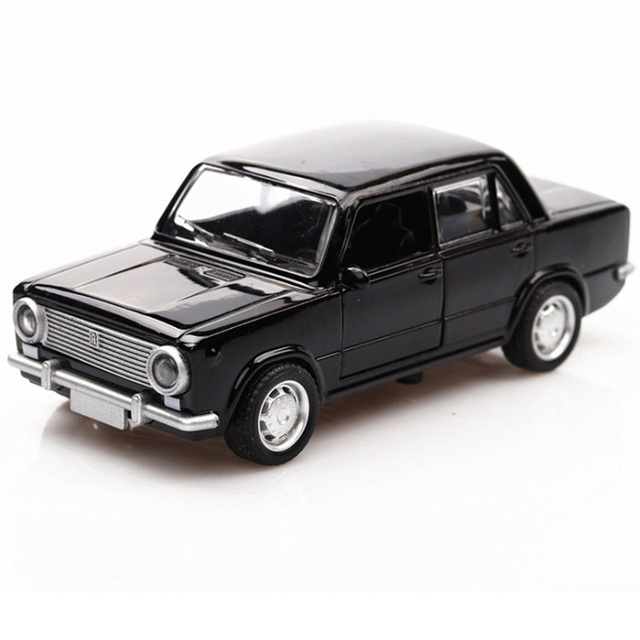 HOMMAT 1/36 Scale Vintage Lada VAZ-2101 Model Car Alloy 1:36 Diecasts Toy Vehicles Car Model Cars Toys For Children Black Friday