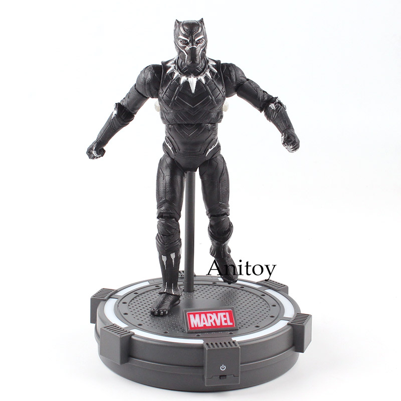 The Avengers Captain America Illuminati Black Panther PVC Action Figure Collectible Model Toy 17.5cm KT4771The Avengers Captain America Illuminati Black Panther PVC Action Figure Collectible Model Toy 17.5cm KT4771