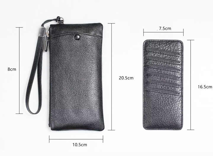 Strap Hand Genuine Cow Leather Mobile Phone Case Pouchs For LG K10 (2017),K8 (2017),K4 (2017),Stylus 3,Meizu U20,Alcatel IDOL 3