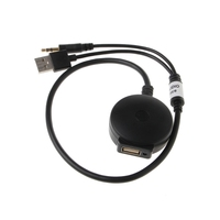 OOTDTY 3 5mm USB Male To Female Bluetooth Audio Aux Adapter Cable For Car BMW Mini