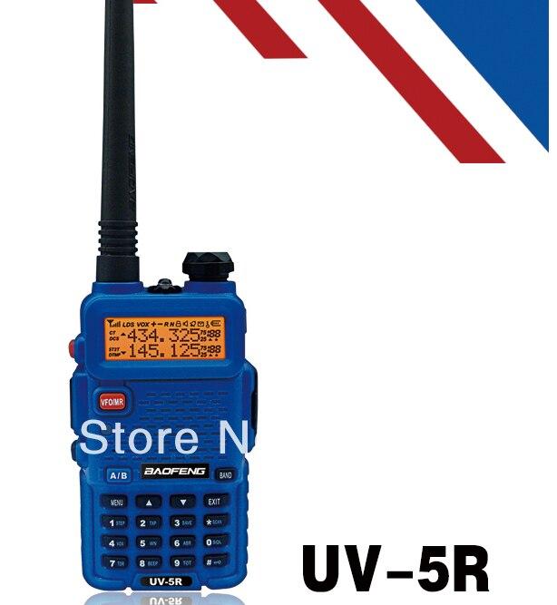 BAOFENG UV 5R Blue Color Dual Band Two-way Radio Free Earpiece Baofeng UV-5R walkie talkie UV5R portable radioBAOFENG UV 5R Blue Color Dual Band Two-way Radio Free Earpiece Baofeng UV-5R walkie talkie UV5R portable radio