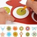 Herramientas del tablero de dibujo Mágico de la Tortuga Y la Liebre Spirograph Dibujantes Dibujo Juguete Para Pintura Juguetes Para Niños Niños