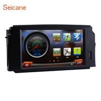 Seicane dvd плеер автомобиля Bluetooth радио для 2008 2010 Mercedes Benz C W204 C180 C200 C230 C300 с gps AUX Поддержка IPod IPhone