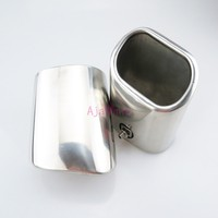 Car Styling #304 Stainless Steel Rear Tail Exhaust Muffler Tip End Pipe Silencer For Mercedes Benz GLK Accessories