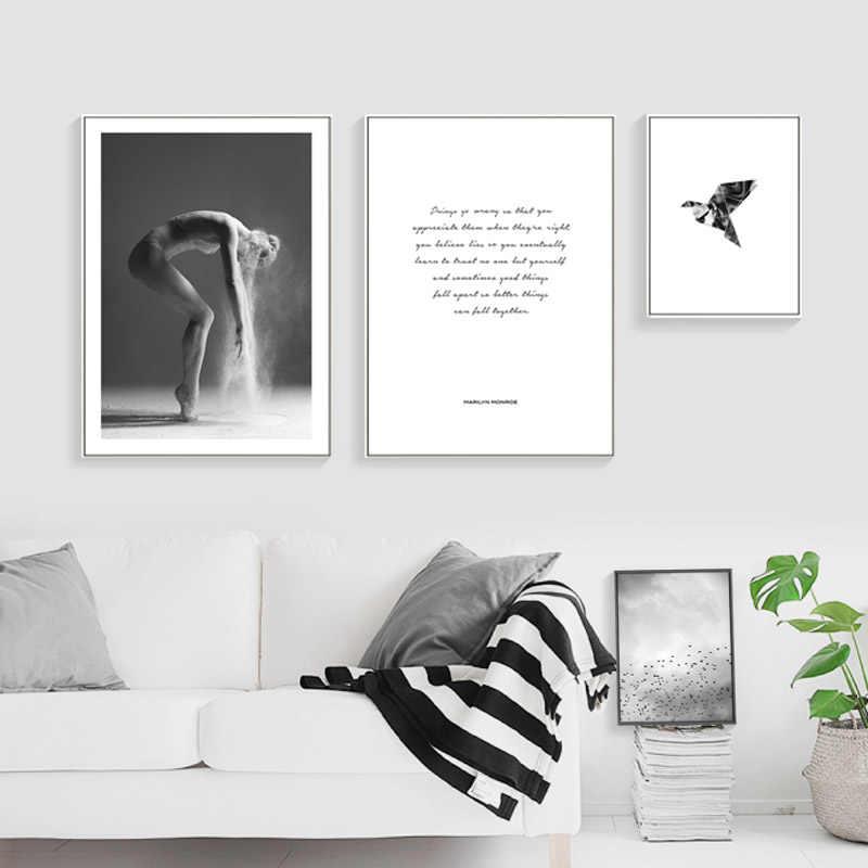 Lzn Toile Art Affiche Abstraite Mur Peinture Masse Effet Photos Lzn Chambre Décorative Mur Photos Doux Toile Matériel
