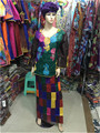 2015 Nueva Moda Bordado Bazin Africano womenBazin Tela Bazin, riche, georges kaftan vestido de Dama M141