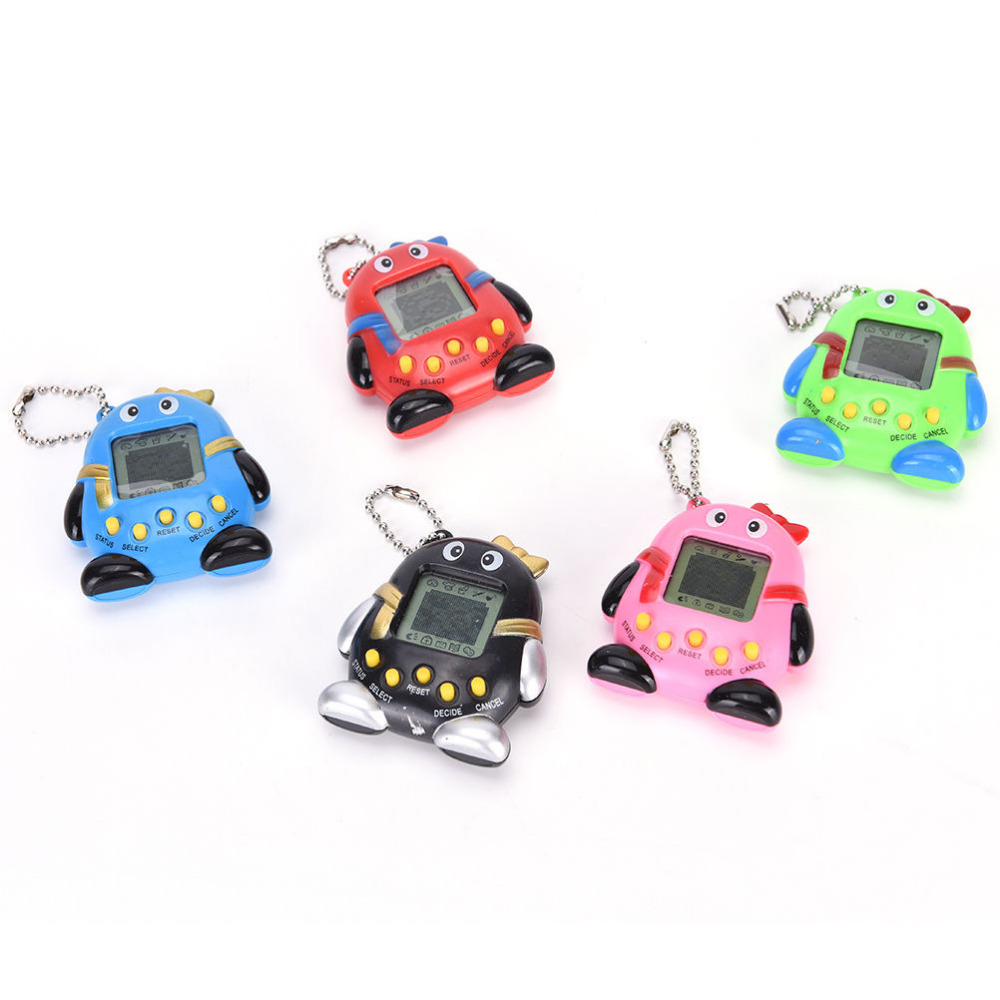 Hot ! 2017 Tamagotchis Electronic Pets Toys 90S Nostalgic 168 Pets in One Virtual Cyber Pet Toy 6 Style Tamagochi Penguins toy