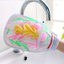 BF040 Thickened Double-sided Sponge Bath Brushes Gloves Exfoliating Shower Body Massage 22*15*3CM