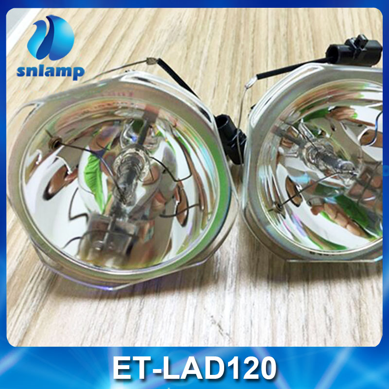 100% Original projector lamp bulb ET-LAD120 ET-LAD120WC for PANASONIC PT-DX100 PT-DX100EK PT-DX100ELK PT-DW830 ECT. projector lamp et lac75 for panasonic pt lc55u pt lc75e pt lc75u pt u1s65 pt u1x65 with japan phoenix original lamp burner