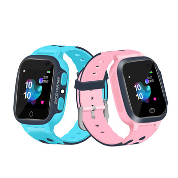 Newest S16 1.44-inch Touch Screen Children's Smart Watch SOS Anti-Lost GPS + LBS Positioning Call Watch With Camera For Children