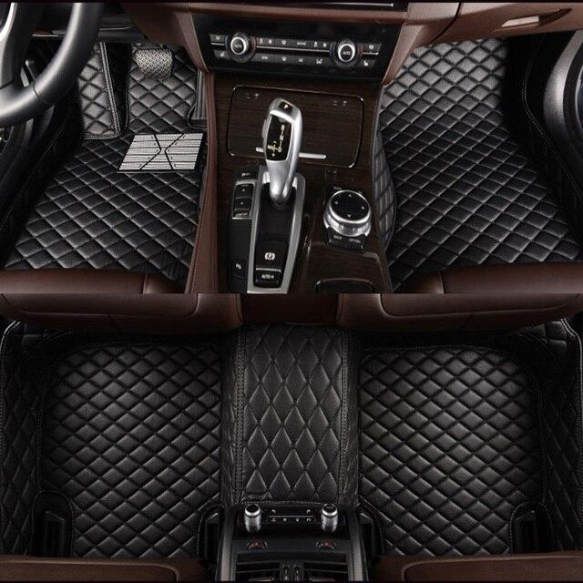HLFNTF Custom car floor mats For Subaru all model FORESTER XV OUTBACK LEGACY Tribeca car accessories Car Styling Car mats