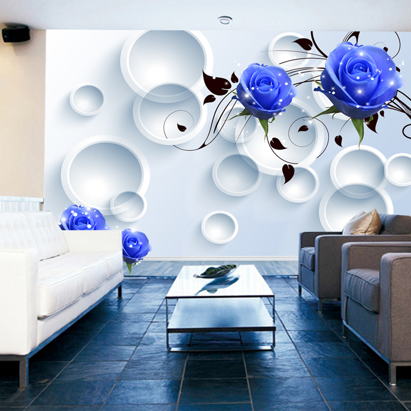 Beibehang customize any size 3d wallpaper 3d living room for 3d room wallpaper background
