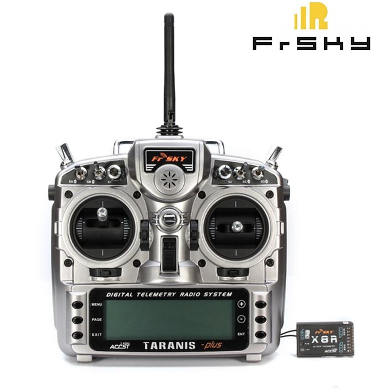 Frsky Taranis X9D Plus 2 4G 16Ch ACCST Transmitter inner XJT for RC FPV Quadrotors