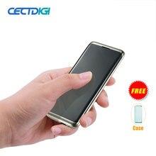 Мини карта телефон маленький cectdigi Ультра Тонкий Кредитная карта телефон металлический чехол Bluetooth 3,0 Dialer сотовый телефон FM мобильный телефон с двумя sim-картами