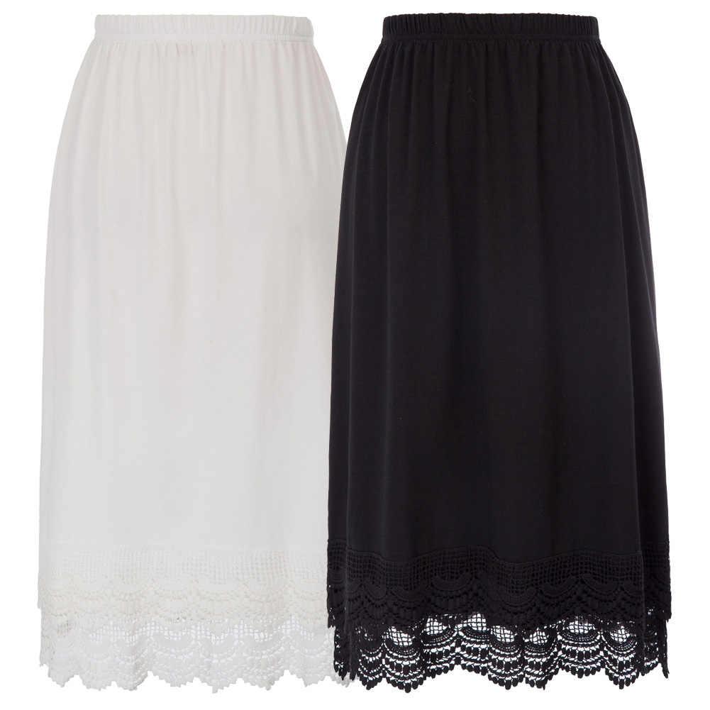 GK женские с эластичной резинкой на талии, без шнуровки женские кружевное вышитое длинное платье юбка, Нижняя юбка-американка