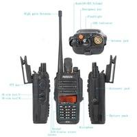 vhf uhf Talkie Walkie Waterproof 2pcs IP67 RT6 5/3 / 1W VOX רדיו FM SOS AlarmDual Band VHF UHF Ham Radio Handy שני הדרך רדיו RU (4)