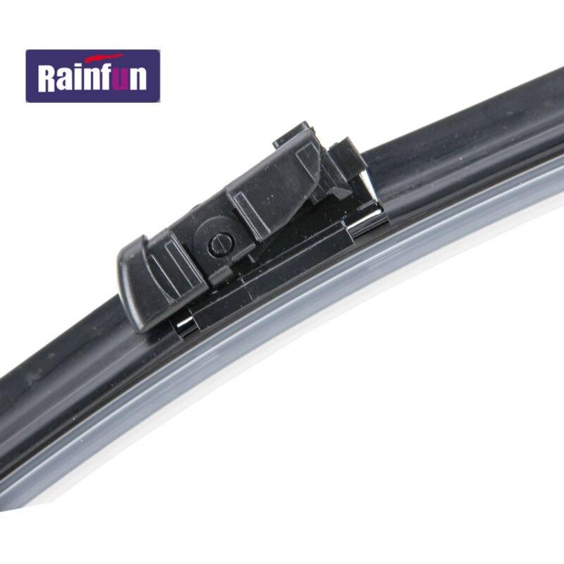 RAINFUN специальный автомобиль стеклоочистителя для peugeot 3008(09-), 30+ 28R дюймовый автоматический стеклоочиститель с высококачественной резиновой заправкой, 2 шт в партии