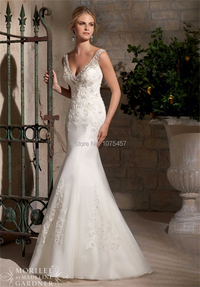 Compare Prices on Lace Mermaid Wedding Dress with Blings- Online ...