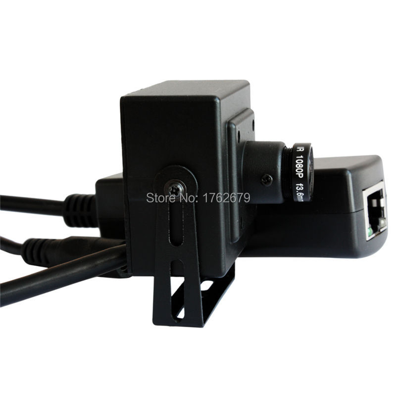 ELP 2.0Megapixels 1080P Full HD Mini IP Camera POE Port ONVIF P2P 3.6mm Lens NEW