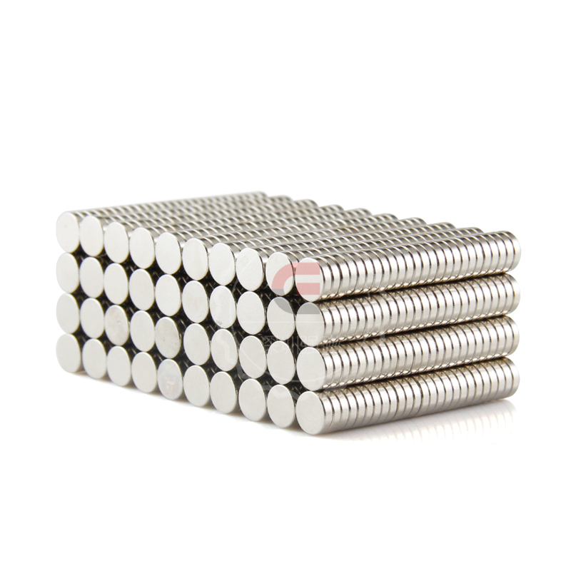 1000pcs Mini Dia 6x1 5mm Neodymium Magnet Strong Round Magnet Industrial Magnets super strong mini