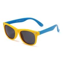 Polarized Kids Retro Sunglasses
