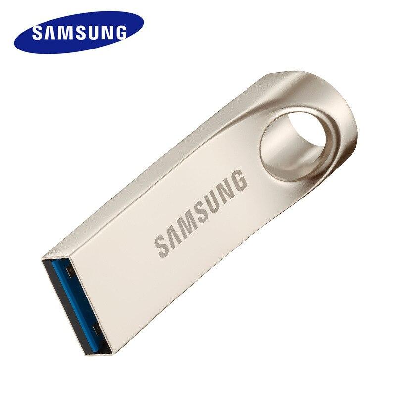 SAMSUNG USB Flash Drive 64 gb 32 gb 128 gb USB3.0 Métal Pen Drive minuscule Clé usb Flash Memory Stick cle usb Périphérique De Stockage U Disque