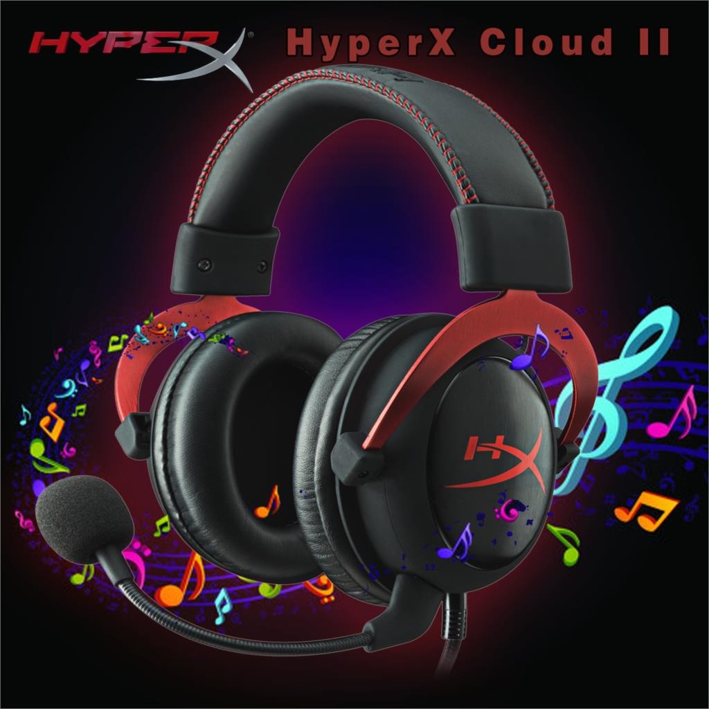 Kingston hyperx cloud ii gaming headset word cloud - Aliexpress Com Buy 2015 Kingston Hyperx Cloud Ii Hi Fi Gaming Headset For Pc Ps4 Xbox 7 1 Virtual Surround Sound With Noise Cancelling Microphone From