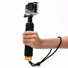 Mini handheld waterproof selfie stick floaty robber for gopro 3 3+ 4 xiaoyi SJcam portable monopod action camera